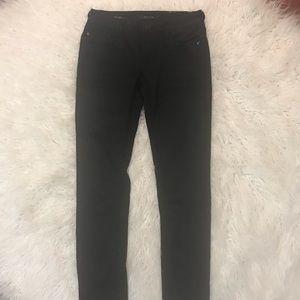 Vigoss Jeans Black Coated Size 28